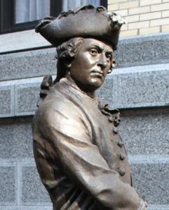 Duc de Lévis. Commandant des armées Françaises en Nouvelle France en 1760.
