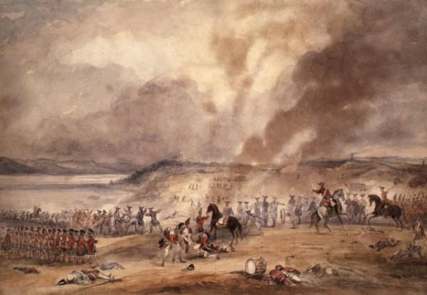 La bataille de Sainte-Foy, par George B. Campion (1796 - 1870)